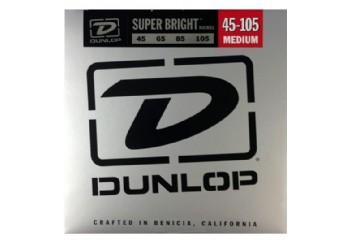 Jim Dunlop DBSBS45105 Super Bright Nickel Plated Steel Takım Tel - Bas Gitar Teli 045-105