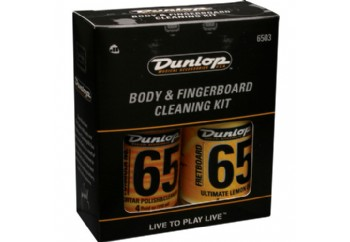 Jim Dunlop 6503 Body and Fingerboard cleaning kit - Gövde ve Klavye Temizleme Seti