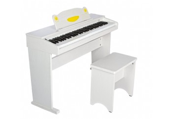 Artesia FUN-1 61-Key Childrens Digital Piano Beyaz - Dijital Çocuk Piyanosu