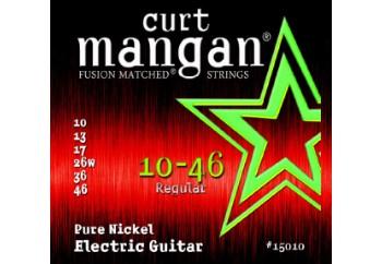 Curt Mangan 15010 Pure Nickel Takım Tel - Elektro Gitar Teli 010-46