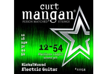 Curt Mangan 11254 Nickel Wound Takım Tel - Elektro Gitar Teli 012