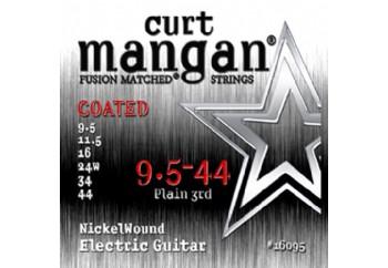 Curt Mangan 16095 Nickel Wound COATED Takım Tel - Elektro Gitar Teli 0095