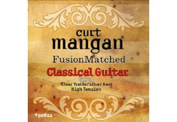 Curt Mangan 90611 High Tension Classical (Clear/Silver) Takım Tel - Klasik Gitar Teli
