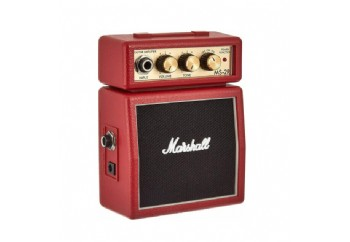 Marshall Micro Amps MS-2R Red - Mini Elektro Gitar Amfisi