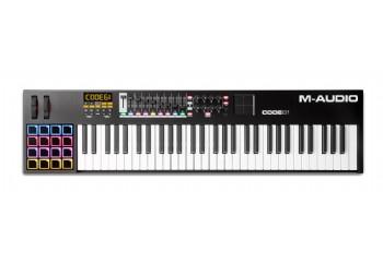 M-Audio Code 61 Black - MIDI Klavye - 61 Tuş - Siyah