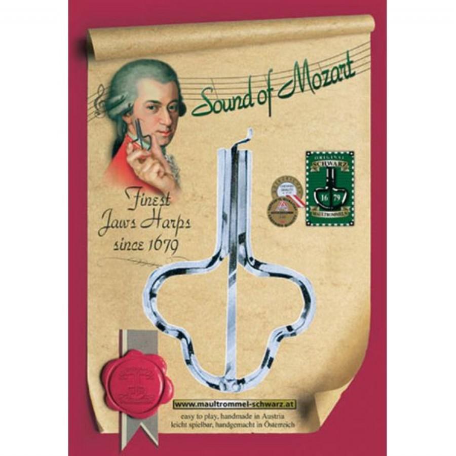 Musik Schwarz Mozart Harp
