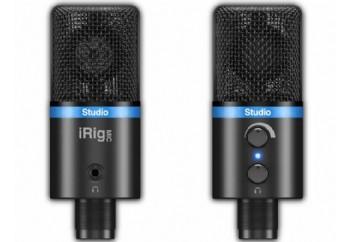 IK Multimedia iRig Mic Studio Black - iPhone, iPad, iPod touch, Mac, PC ve Android için Dijital Mikrofon