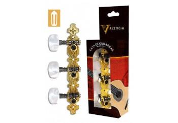 Valencia VCMH0150 GD - Gold - Klasik Gitar Akort Burgusu