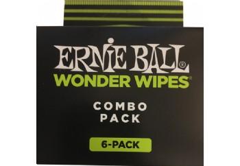 Ernie Ball P04279 Wonder Wipe Variety 6-pack - Gitar Temizlik ve Bakım Seti