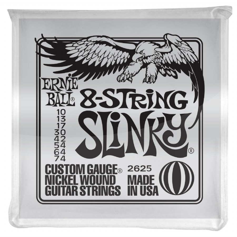 Ernie Ball P02625 Slinky Electric Nickel Wound