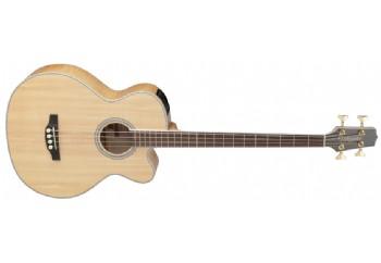 Takamine GB72CE Natural - Elektro Akustik Bas Gitar