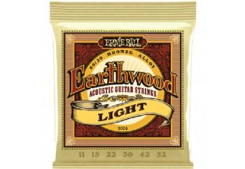 Ernie Ball Earthwood Light 80/20 Bronze Takım Tel - Akustik Gitar Teli 011-052