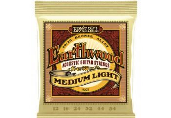 Ernie Ball Earthwood Medium Light 80/20 Bronze Takım Tel - Akustik Gitar Teli 012-054