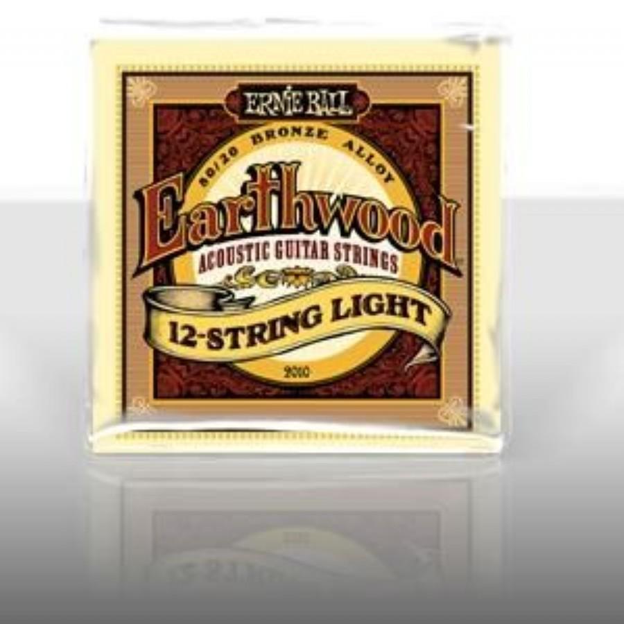 Ernie Ball 12-String Earthwood Light 80/20 Bronze