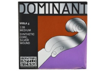Thomastik Dominant 141 Medium G (Sol) - Tek Tel - Viyola Teli