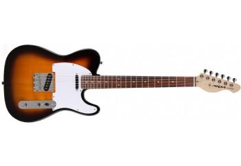 Aria 615-Frontier 3TS - 3 Tone Sunburst - Elektro Gitar