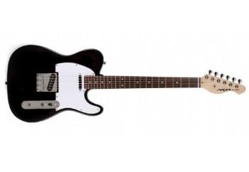 Aria 615-Frontier BK - Black - Elektro Gitar