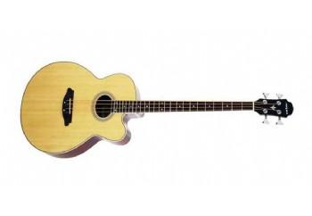 Aria FEB-30M Natural - Elektro Akustik Bas Gitar