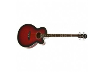 Aria FEB-30M RS - Red - Elektro Akustik Bas Gitar