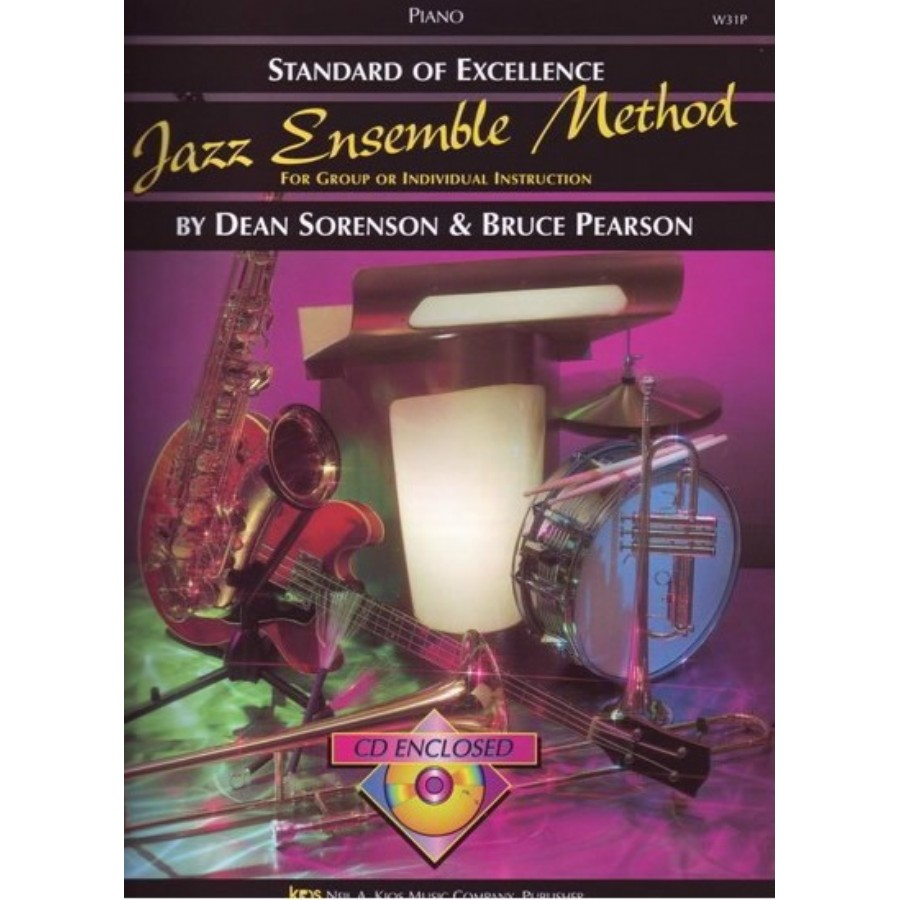 Kjos SOE Jazz Ensemble Metod (Piano)
