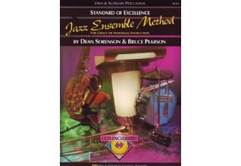 Kjos SOE Jazz Ensemble Metod (Vibes & Auxiliary Percussion) Kitap