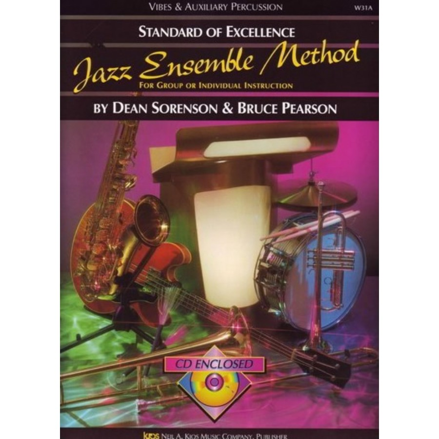Kjos SOE Jazz Ensemble Metod (Vibes & Auxiliary Percussion)