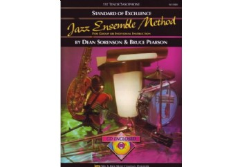 Kjos SOE Jazz Ensemble Metod (1ST Tenor Saxophone) Kitap - Tenor Saksofon Metodu