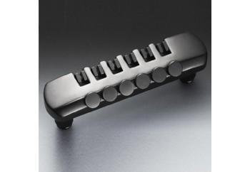 Schaller Fine-Tuning Tailpiece BlackChrome - Elektro Gitar Tailpiece