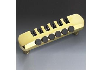 Schaller Fine-Tuning Tailpiece Gold - Elektro Gitar Tailpiece