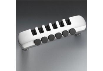Schaller Fine-Tuning Tailpiece SatinChrome - Elektro Gitar Tailpiece