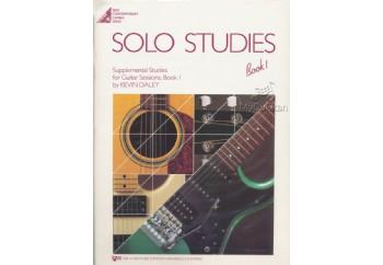 Solo Studies for Guitar Sessions Book 1 Kitap - Elektro Gitar Metodu