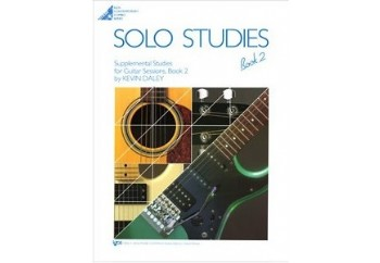 Solo Studies for Guitar Sessions Book 2