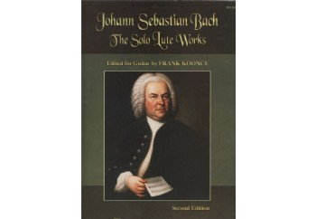J.S Bach The Solo Lute Works Kitap - Klasik Gitar Repertuarı