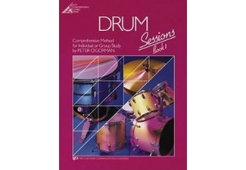 Drum Sessions Book 1 Kitap - Davul Metodu