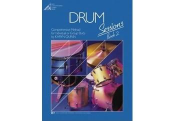 Drum Sessions Book 2 Kitap - Davul Metodu