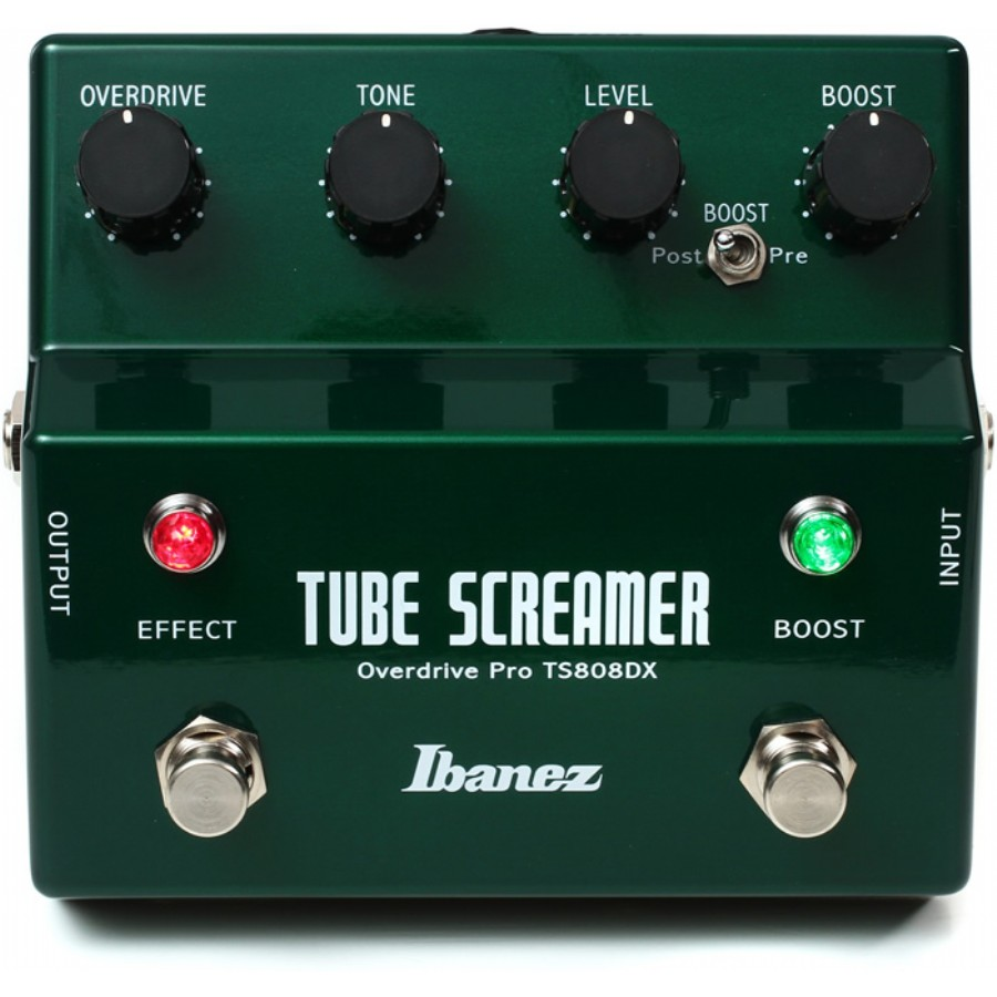 Ibanez TS808DX Tube Screamer - Booster/Overdrive Pedalı