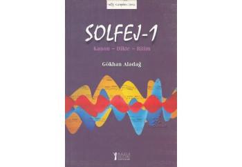 Solfej 1 (Kanon - Dikte - Ritim) Kitap