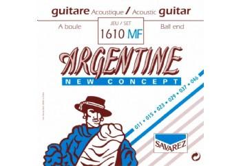 Savarez 1610MF Argentine Acoustic Jazz Guitar Strings Takım Tel - Akustik Gitar Teli 011-046