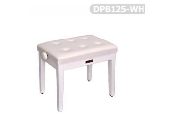 Dominguez DPB125 WH - Beyaz - Piyano Taburesi
