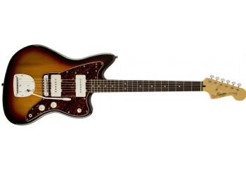 Squier Vintage Modified Jazzmaster 3-Color Sunburst - Indian Laurel - Elektro Gitar