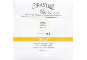 Pirastro Gold E (Mi) Tek Tel - Keman Teli