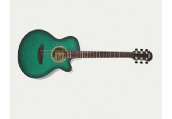 Aria TG-1 SGR - See-through Green - Akustik Gitar