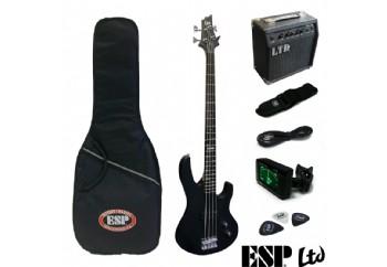 LTD LBPACKBLKS B Serisi BLKS - Bas Gitar Seti