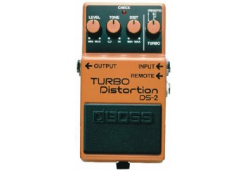 Boss DS-2 Turbo Distortion - Distortion Pedalı