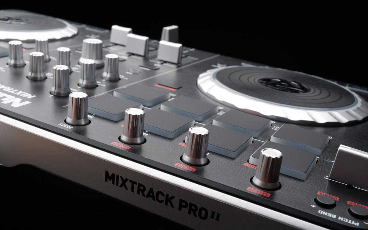 Numark Mixtrack Pro II - 2-Channel DJ Controller with Audio I/O