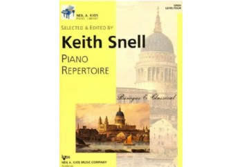 Kjos Piano Repertoire Baroque/Classical Level 4 Kitap - Keith Snell