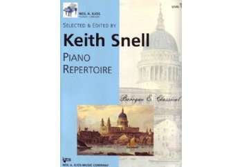 Kjos Piano Repertoire Baroque/Classical Level 2 Kitap - Keith Snell