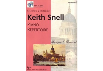 Kjos Piano Repertoire Baroque/Classical Preparatory Level Kitap - Keith Snell