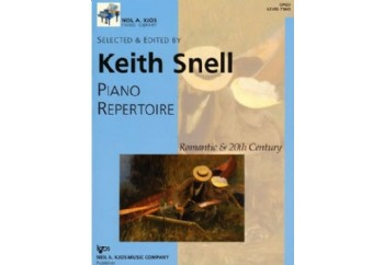 Kjos Piano Repertoire Romantic & 20th Century Level 2 Kitap - Keith Snell