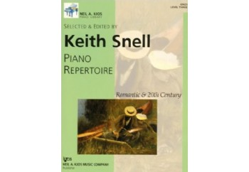 Kjos Piano Repertoire Romantic & 20th Century Level 3 Kitap - Keith Snell